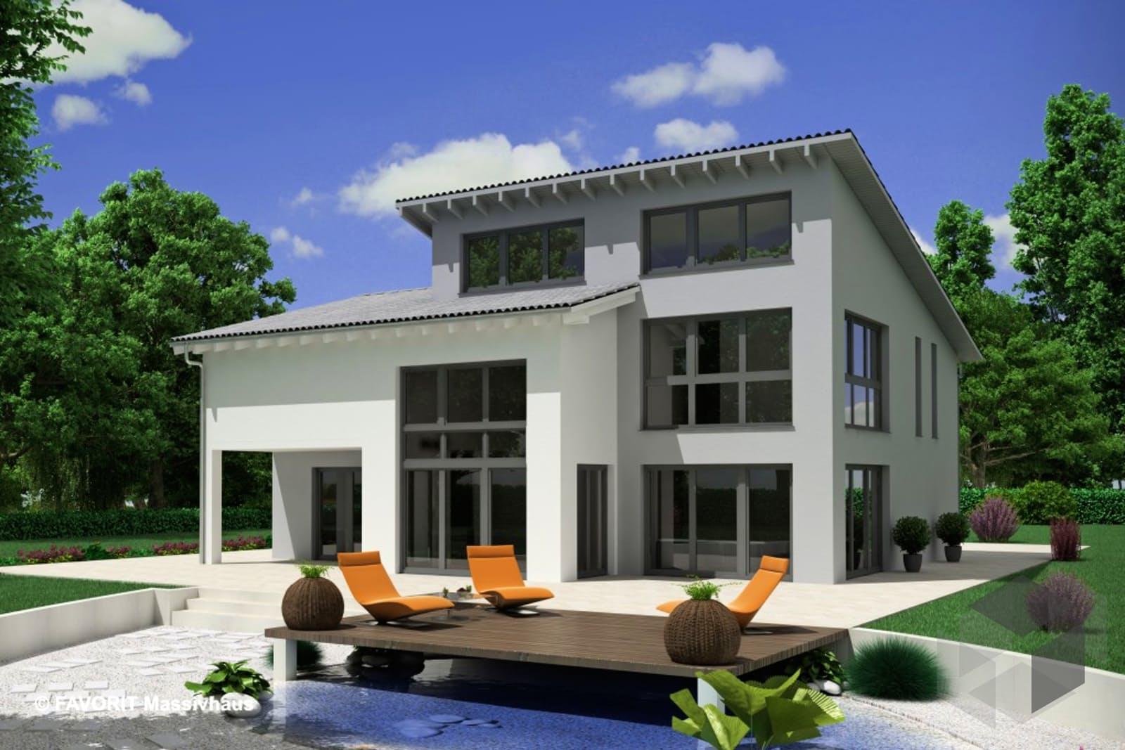 creativ sun 211 von favorit massivhaus komplette daten bersicht. Black Bedroom Furniture Sets. Home Design Ideas