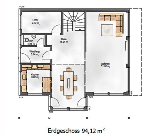 Das Creative 184 Floorplan 1