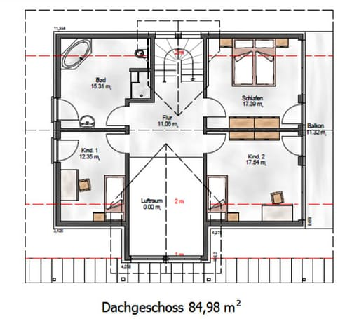 Das Creative 184 Floorplan 2
