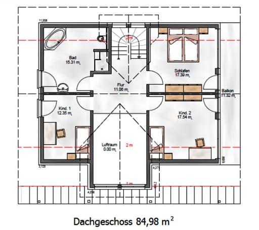 Das Creative 184 Floorplan 2