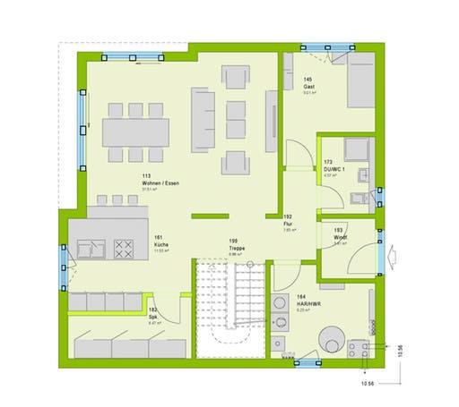 Cube 8 Floorplan 1