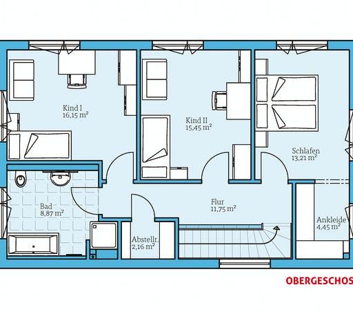 Hanse - Cubus 148 Floorplan 2