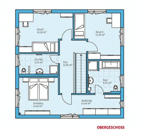 Hanse - Cubus 167 Floorplan 2