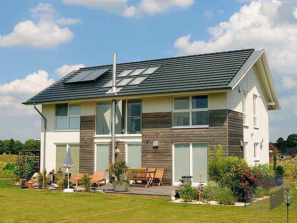 Anke (KfW-Effizienzhaus 55) von Dammann-Haus Außenansicht