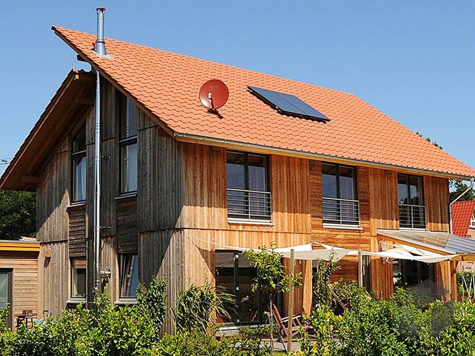 Birgit (KfW-Effizienzhaus 55) von Dammann-Haus Außenansicht