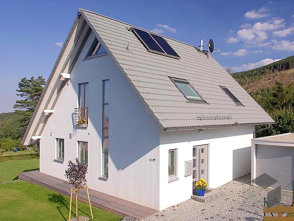 Britta (KfW-Effizienzhaus 55) von Dammann-Haus Außenansicht