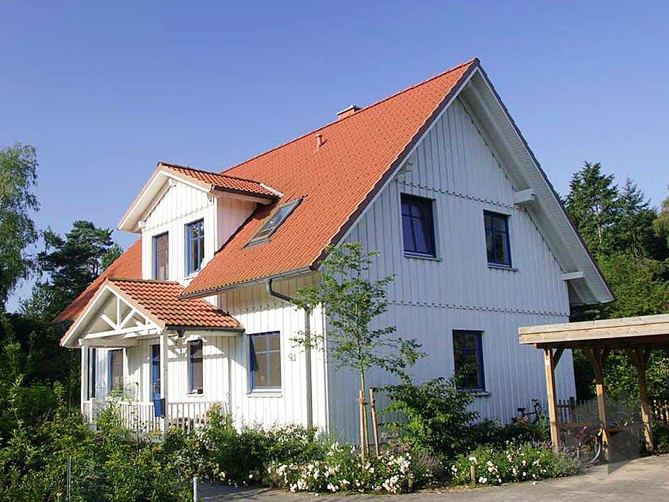 Carmen (KfW-Effizienzhaus 55) von Dammann-Haus Außenansicht