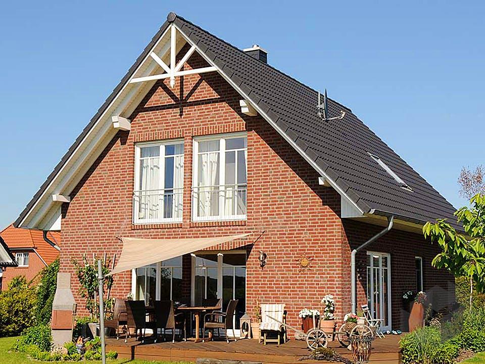 Imke (KfW-Effizienzhaus 55) von Dammann-Haus Außenansicht