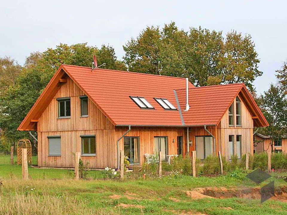 Irina (KfW-Effizienzhaus 55) von Dammann-Haus Außenansicht