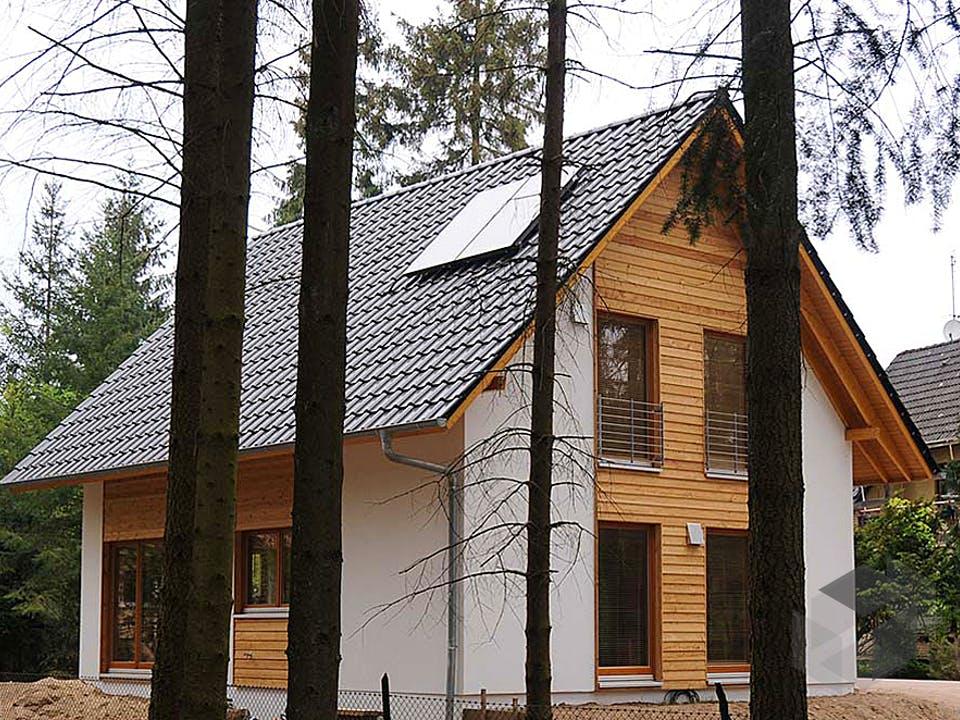 Isa (KfW-Effizienzhaus 55) von Dammann-Haus Außenansicht