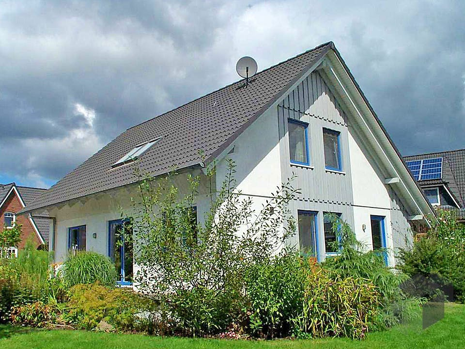 Julia (KfW-Effizienzhaus 55) von Dammann-Haus Außenansicht