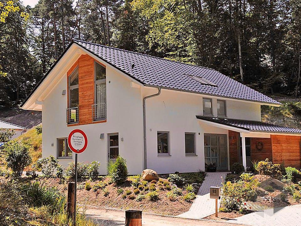 Jutta (KfW-Effizienzhaus 55) von Dammann-Haus Außenansicht
