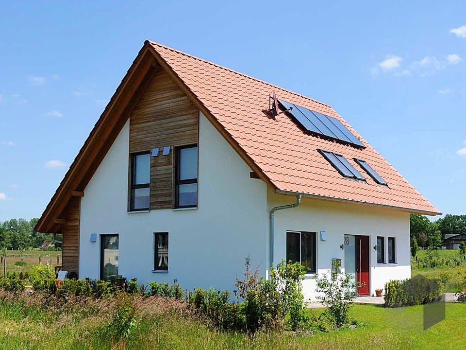 Kathrin (KfW-Effizienzhaus 55) von Dammann-Haus Außenansicht