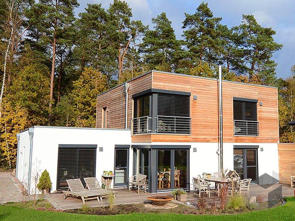 Luisa (KfW-Effizienzhaus 55) von Dammann-Haus Außenansicht