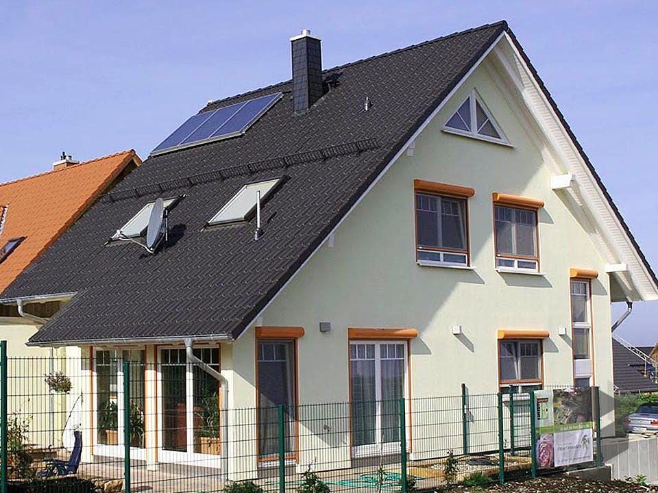 Maria (KfW-Effizienzhaus 55) von Dammann-Haus Außenansicht