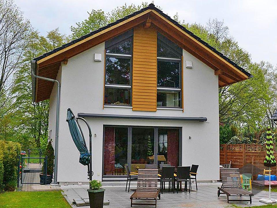 Nicole (KfW-Effizienzhaus 55) von Dammann-Haus Außenansicht