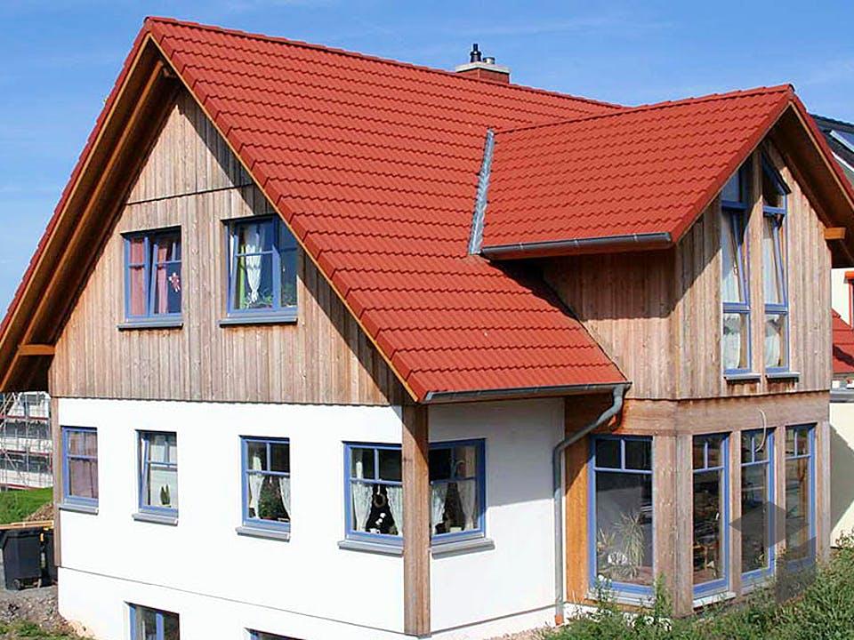 Patricia (KfW-Effizienzhaus 55) von Dammann-Haus Außenansicht