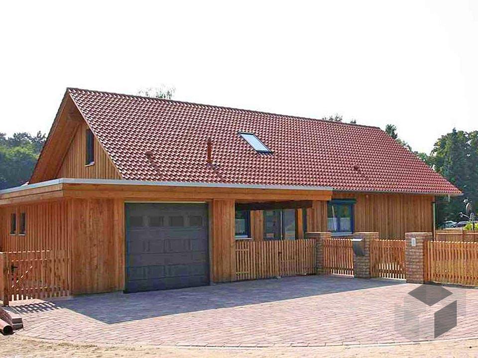Rosi 2 (KfW-Effizienzhaus 55) von Dammann-Haus Außenansicht