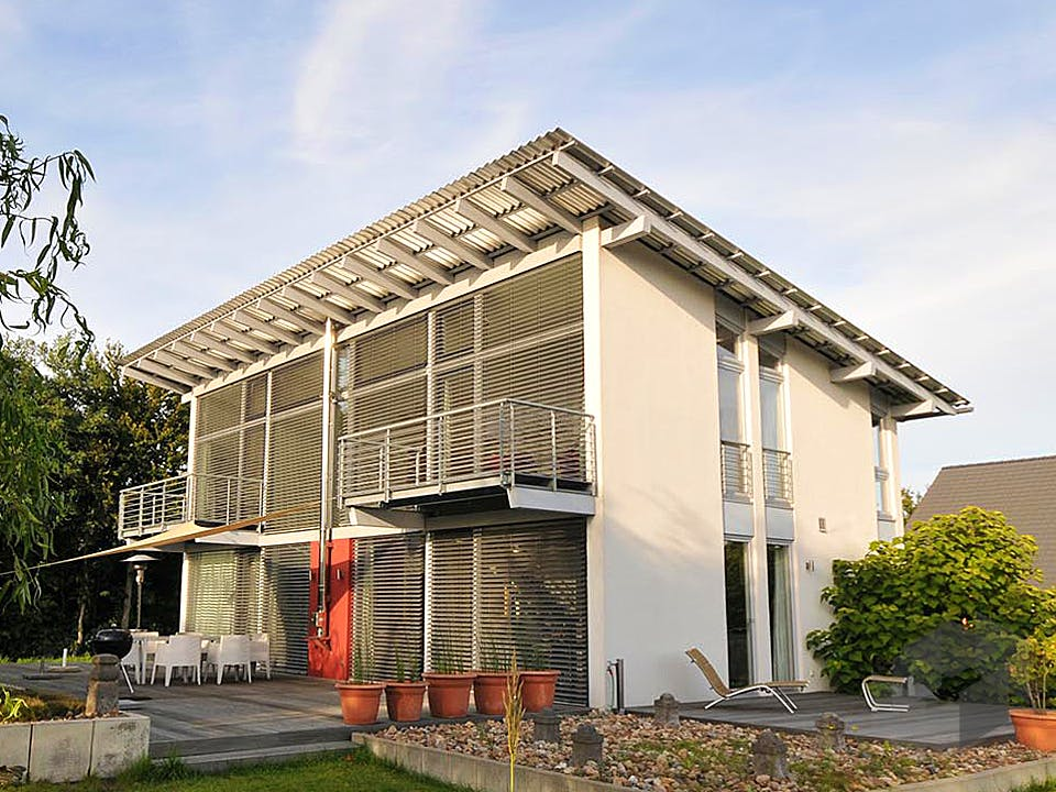 Sabine (KfW-Effizienzhaus 55) von Dammann-Haus Außenansicht