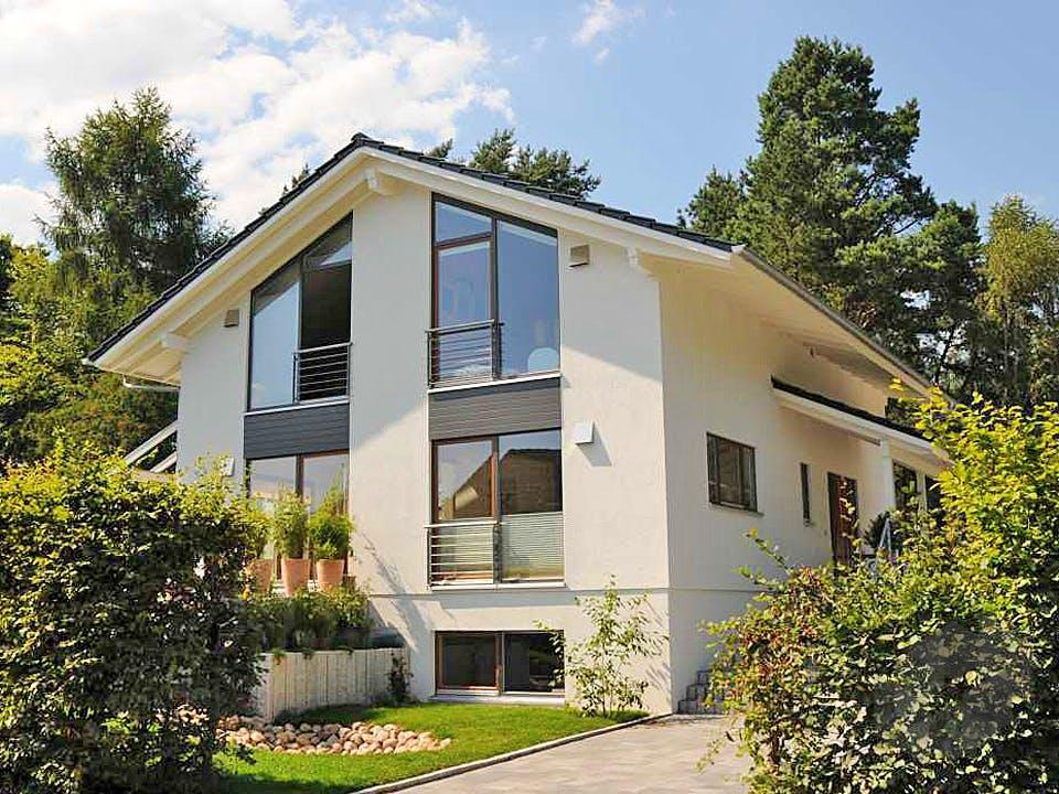 Stefanie (KfW-Effizienzhaus 55) von Dammann-Haus Außenansicht