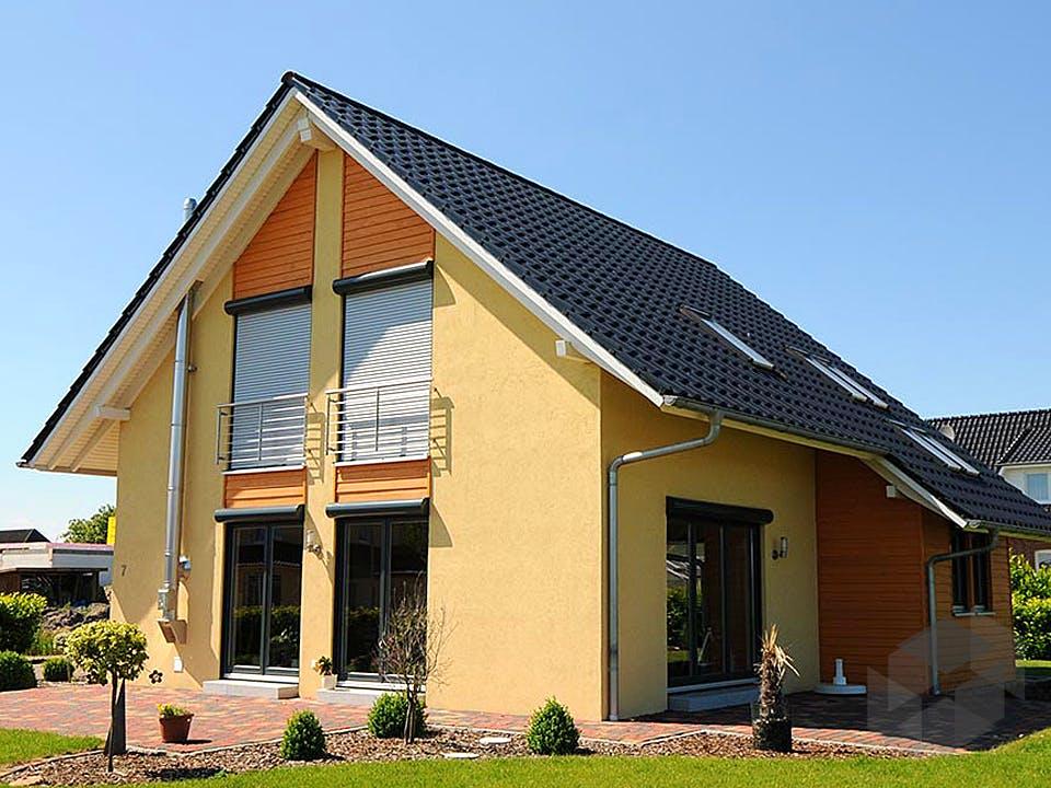 Steffy (KfW-Effizienzhaus 55) von Dammann-Haus Außenansicht