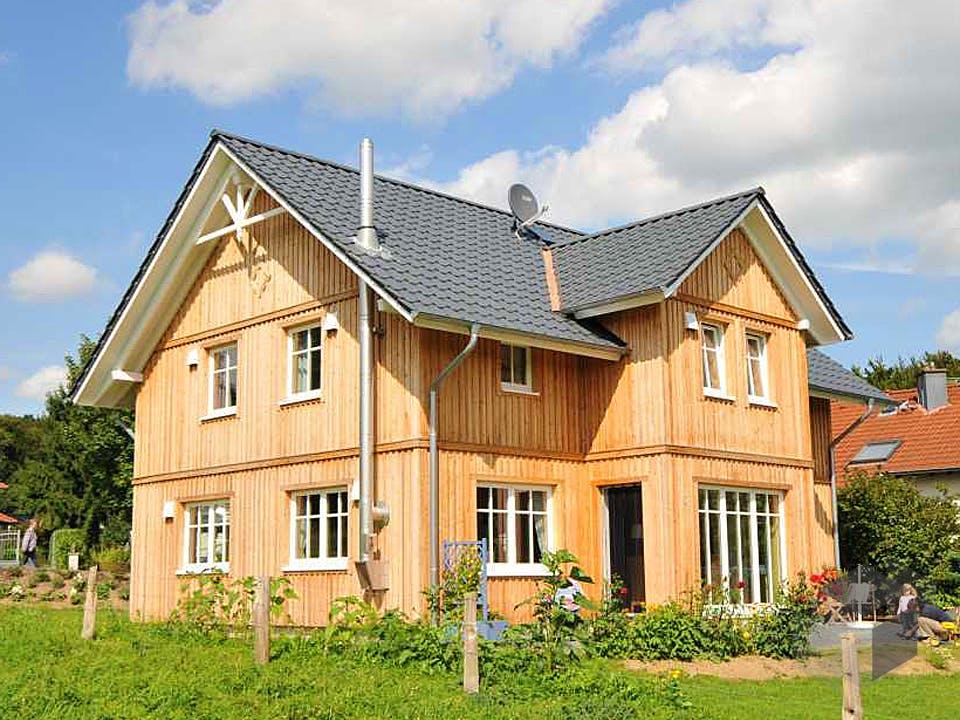 Svanhild (KfW-Effizienzhaus 55) von Dammann-Haus Außenansicht