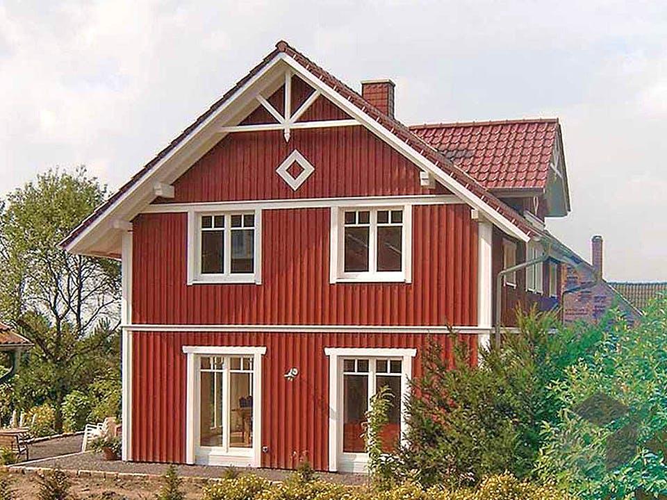 Svantje (KfW-Effizienzhaus 55) von Dammann-Haus Außenansicht