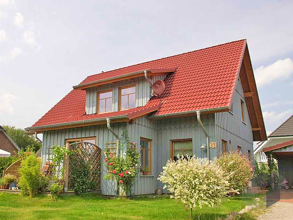 Tineke (KfW-Effizienzhaus 55) von Dammann-Haus Außenansicht