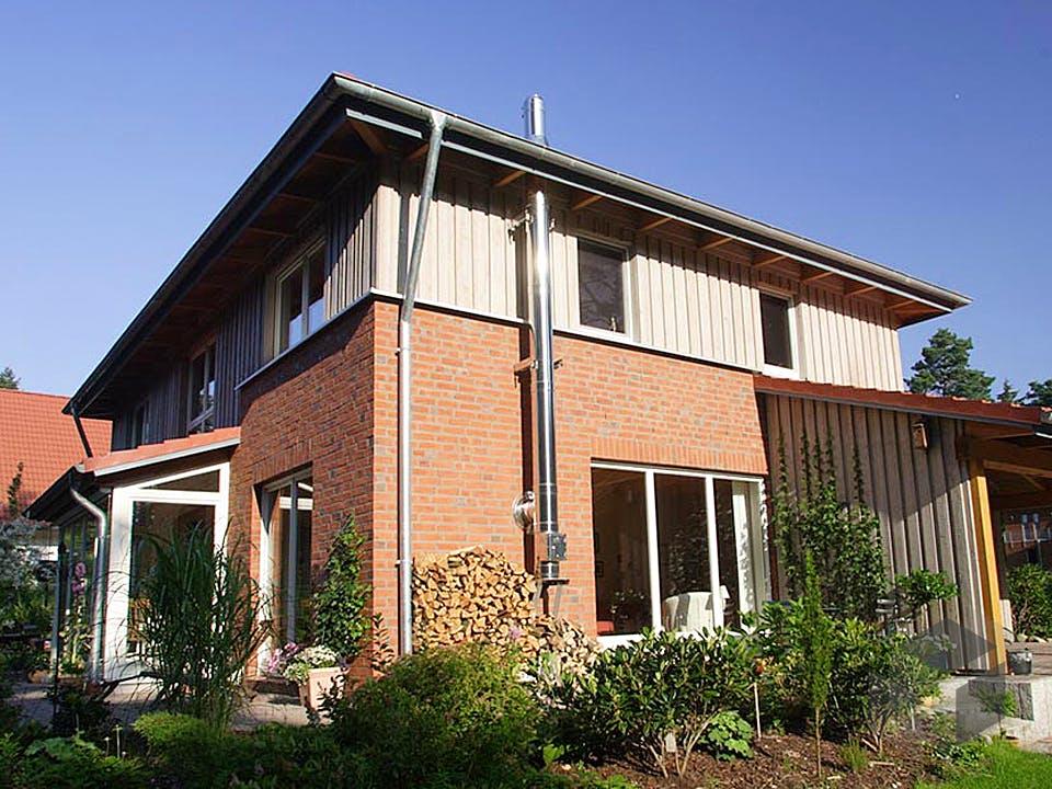 Wieke (KfW-Effizienzhaus 55) von Dammann-Haus Außenansicht