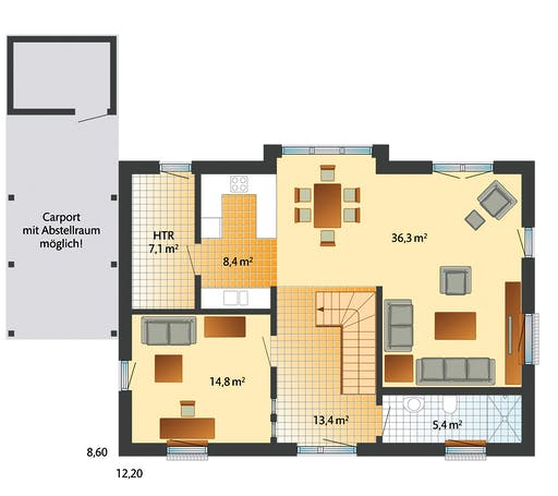 Danhaus Kronshagen Floorplan 1