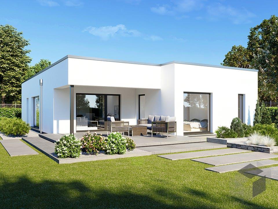 Perfect 120 Cube von DAN-WOOD HOUSE - Österreich Außenansicht