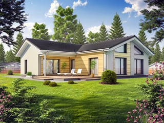 Perfect 131 von DAN-WOOD HOUSE - Österreich Außenansicht 1