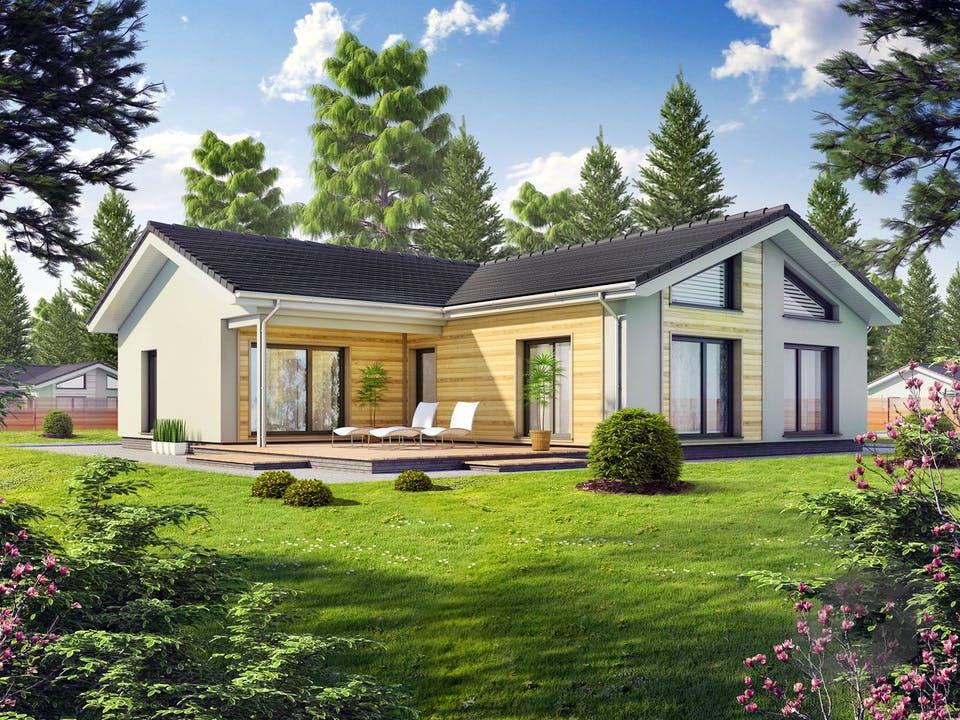 Perfect 131 von DAN-WOOD HOUSE - Österreich Außenansicht
