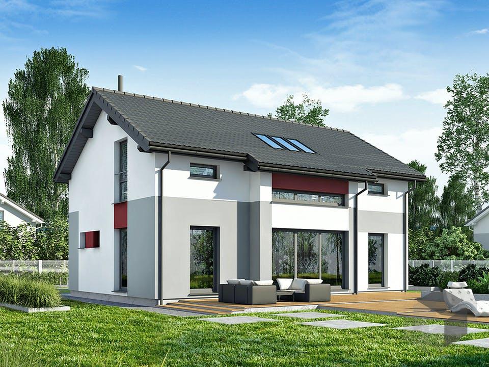 Point 140 A2 von DAN-WOOD HOUSE - Österreich Außenansicht