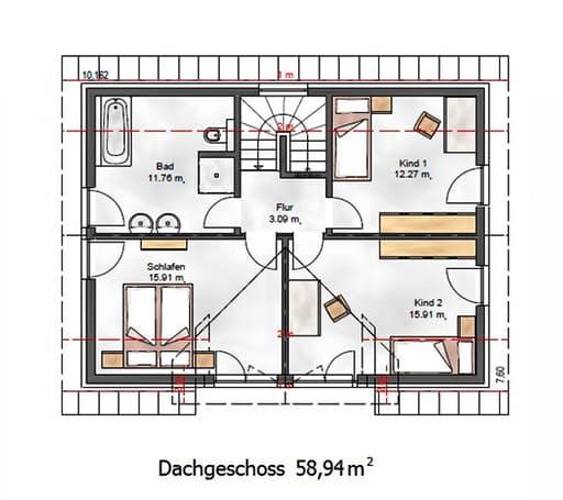 Das Vielseitige 125.1 Floorplan 2