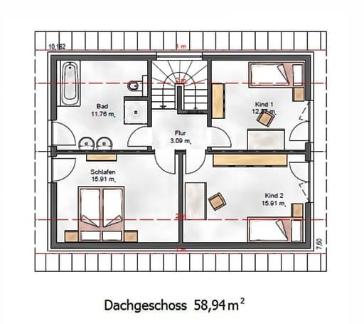Das Vielseitige 125 Floorplan 2