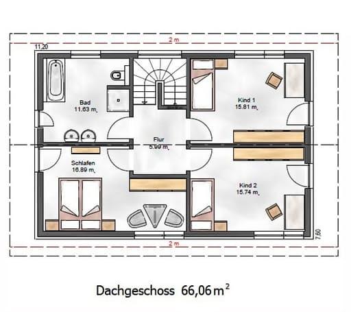 Das Vielseitige 139 Floorplan 2