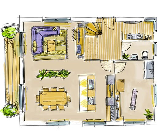 Dennert ICON 3.20 Floorplan 1