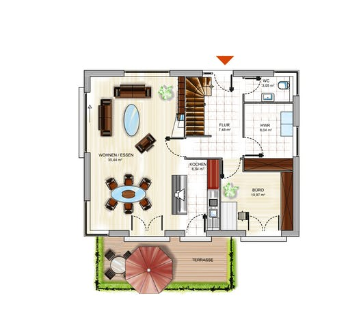 ICON 3+ Floorplan 1