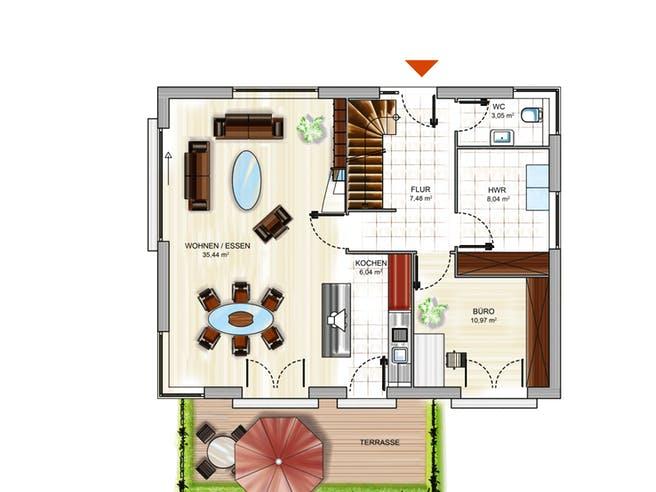 ICON 3+ Floorplan 1