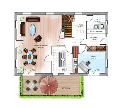 Dennert ICON 4 Floorplan 1