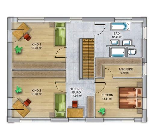 Dennert ICON 4 XL Floorplan 2