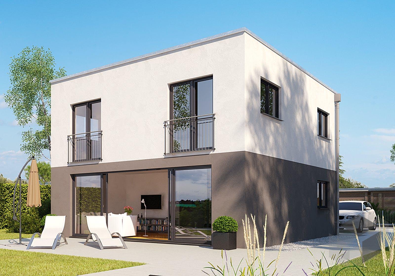 icon cube von dennert massivhaus komplette daten bersicht. Black Bedroom Furniture Sets. Home Design Ideas