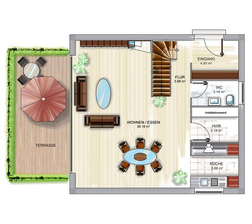 Dennert ICON Cube Floorplan 2