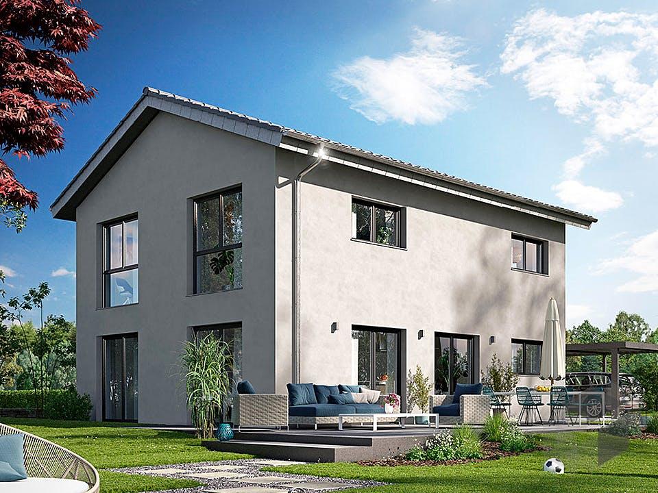 ICON 3.20 Aktionshaus von Dennert Massivhaus Außenansicht