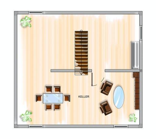 Dennert ICON 3 City mit Satteldach Floorplan 3