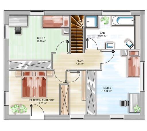 Dennert ICON 3+ City m. WD Floorplan 2