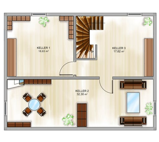 Dennert ICON 3+ City m. WD Floorplan 3