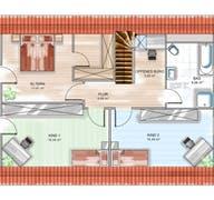 ICON 4 mit Satteldach Grundriss