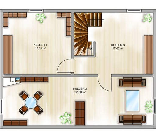 Dennert ICON Cube Floorplan 3